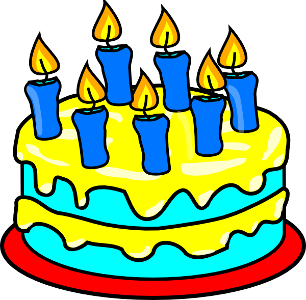Art cake birthday cake clipart 4 cakes.