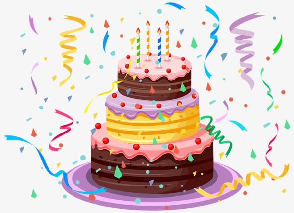 Birthday Cake, Birthday Clipart, Cake Clipart, Cake PNG.
