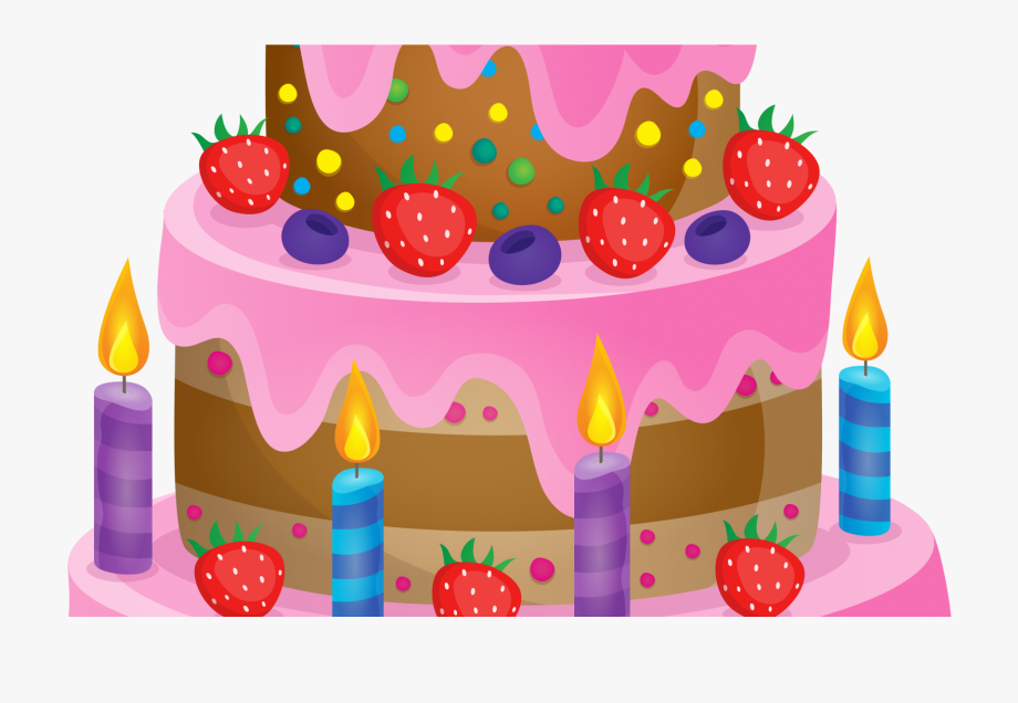 Birthday Cake Clip Art Free Download On Clipart Simple.