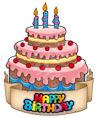 Birthday cake clipart free clipart images.