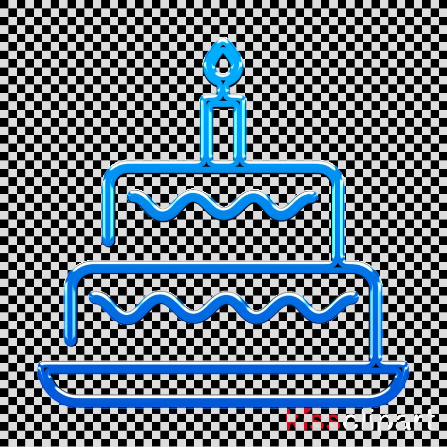 Birthday cake icon Birthday icon clipart.