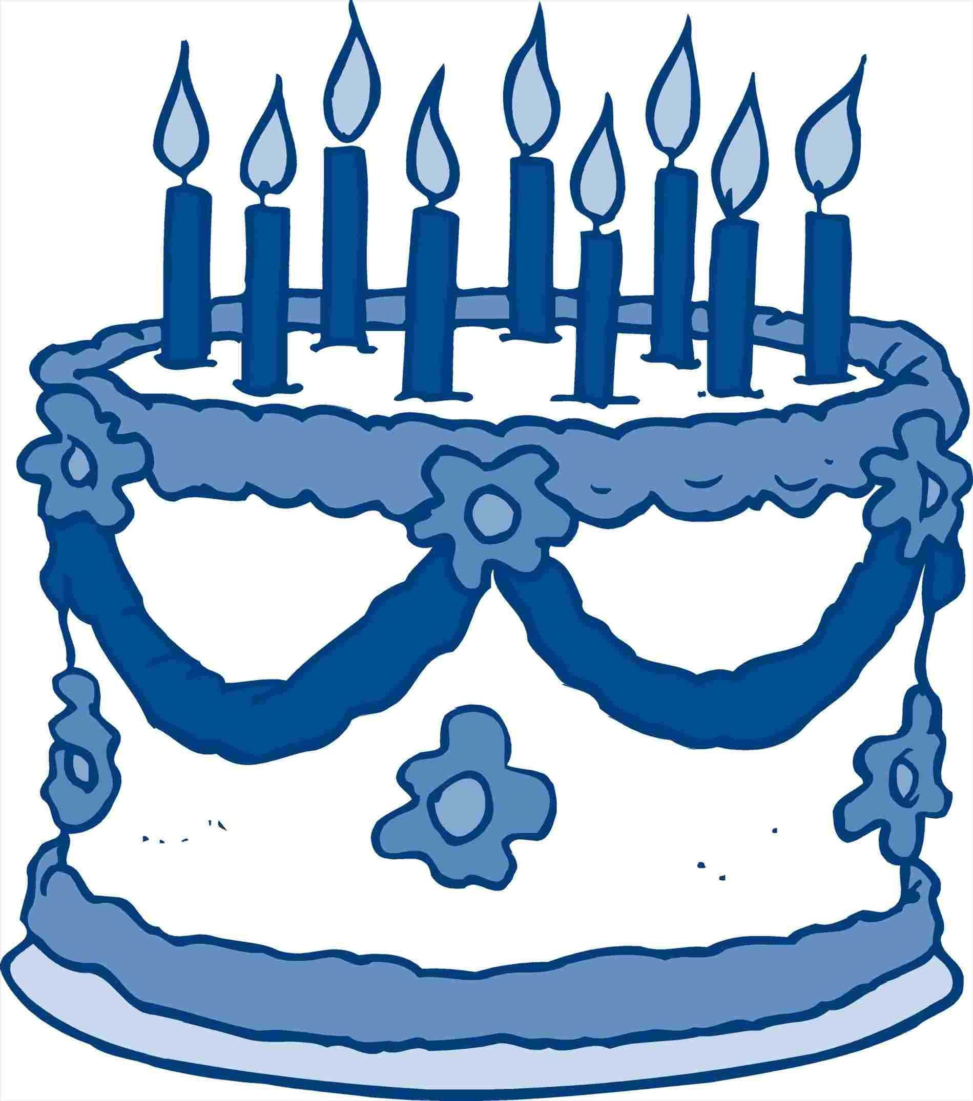 25+ Best Image of Birthday Cake Clipart Black And White.