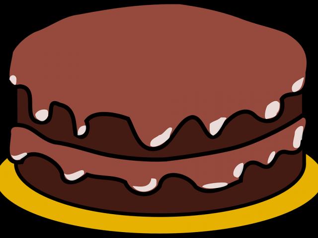 Chocolate Cake Clipart Real Cake.