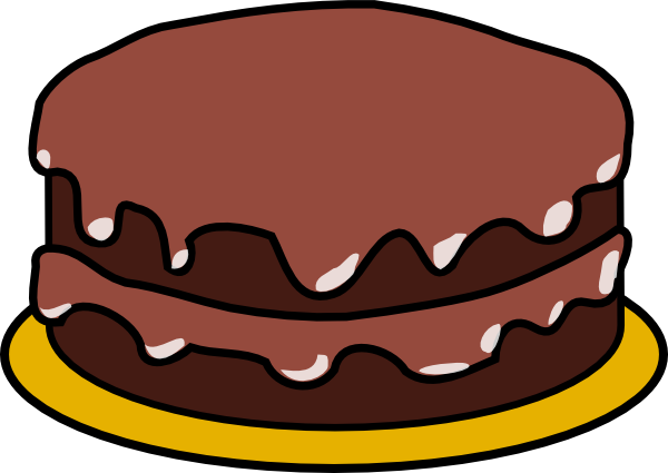 Cake Clipart Without Candles.
