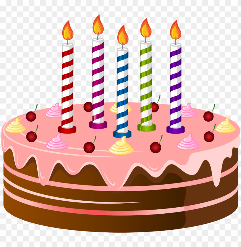 birthday cake png clip art image.