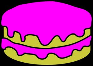 Pink Cake No Candles Clip Art at Clker.com.