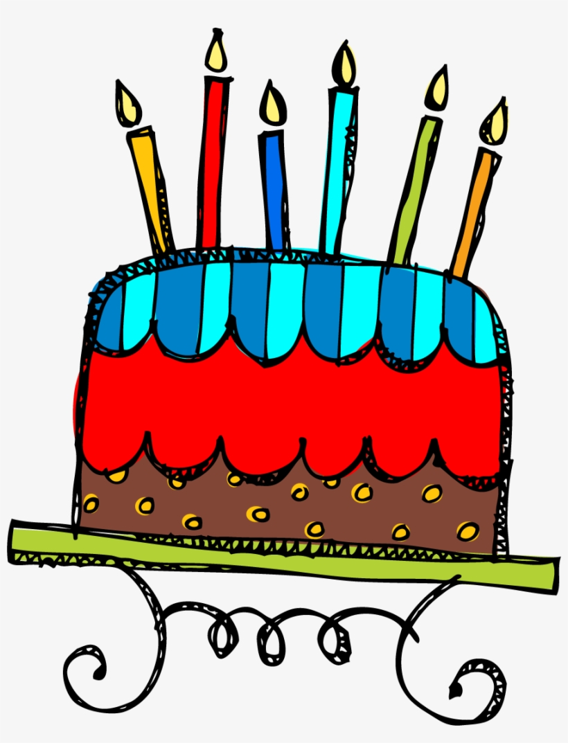 Birthday Cake Clip Art Free Clipart Images.