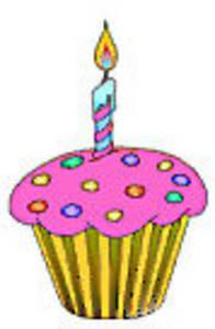 1st Birthday Cake Clipart.