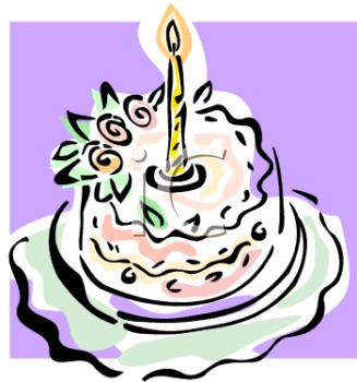 One Year Old Birthday Cake.