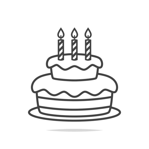 Cake Outline Clipart