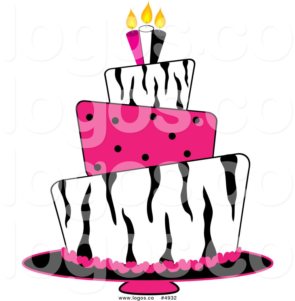 Cake Clipart Logo.