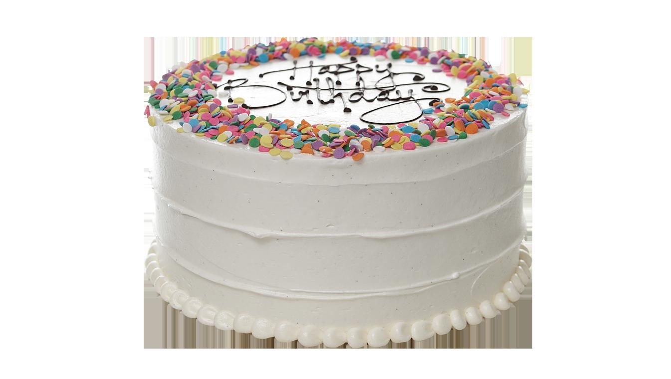 Classic Birthday Cake.