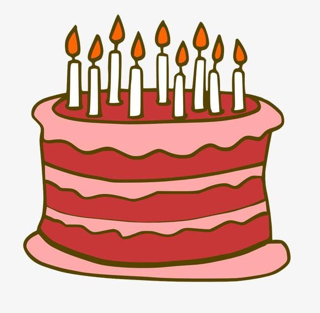 Cartoon Birthday Cake PNG, Clipart, Birthday, Birthday Cake.