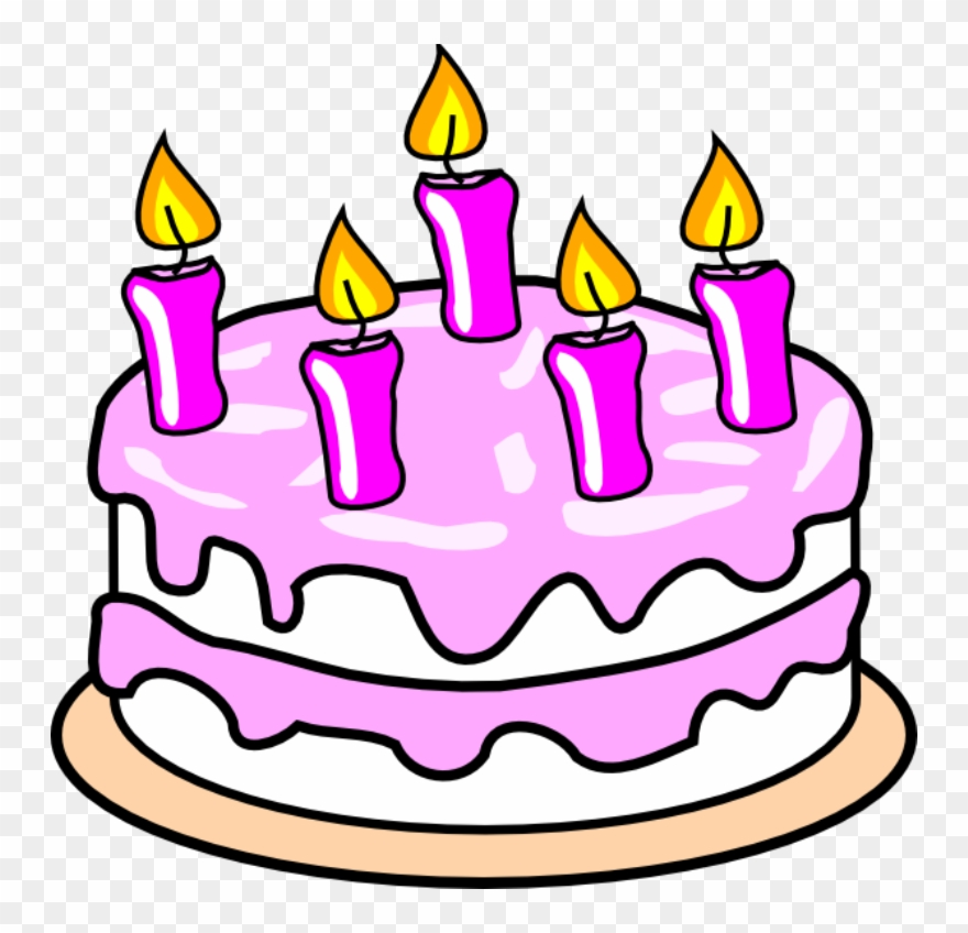 Birthday Cake Clip Art Free.