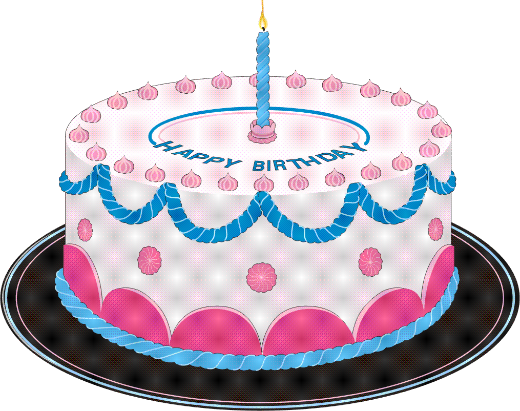 Free Birthday Cakes Images With Candles, Download Free Clip Art.