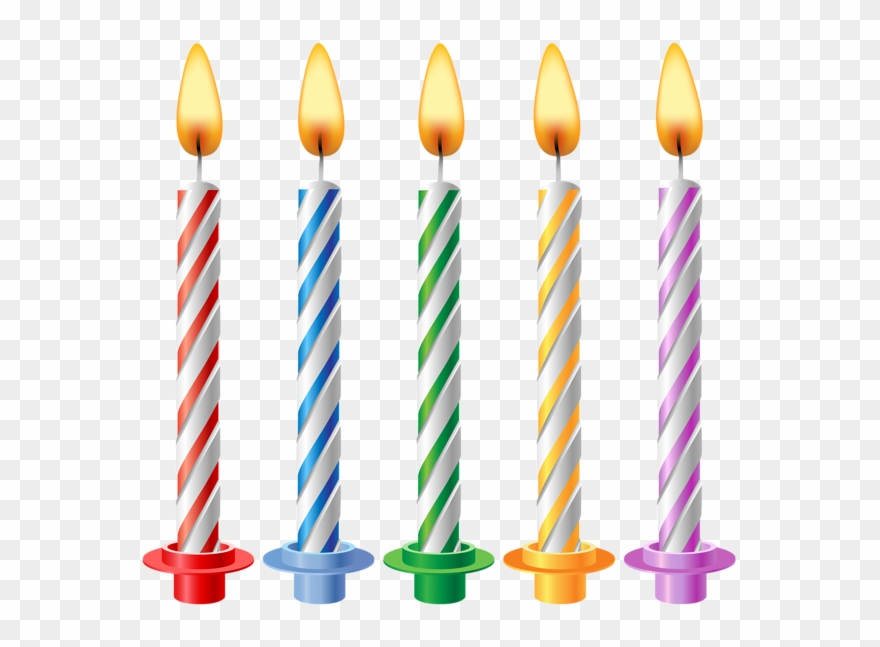 Candles Birthday Clipart