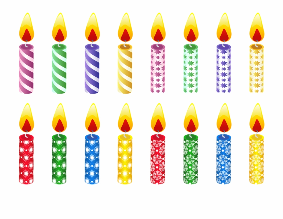 Birthday Candles Clipart Church Candle.