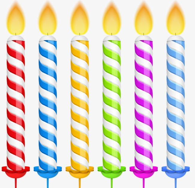 Birthday Candle Clipart Group (+), HD Clipart.