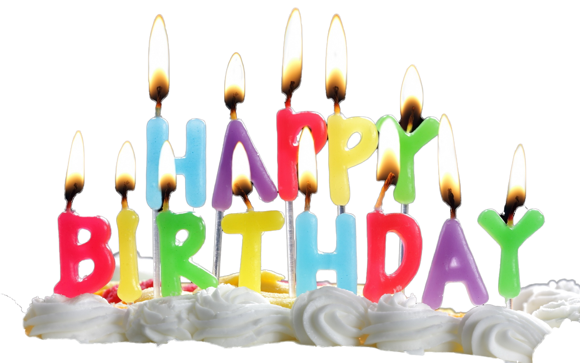 Birthday Candles PNG Transparent Images.