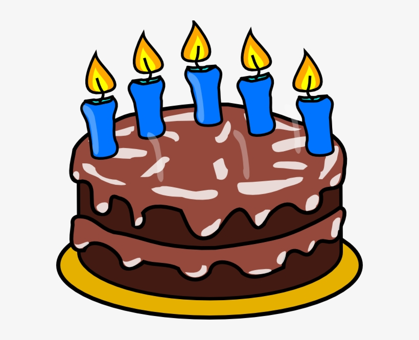 Cake Candles Clip Art.