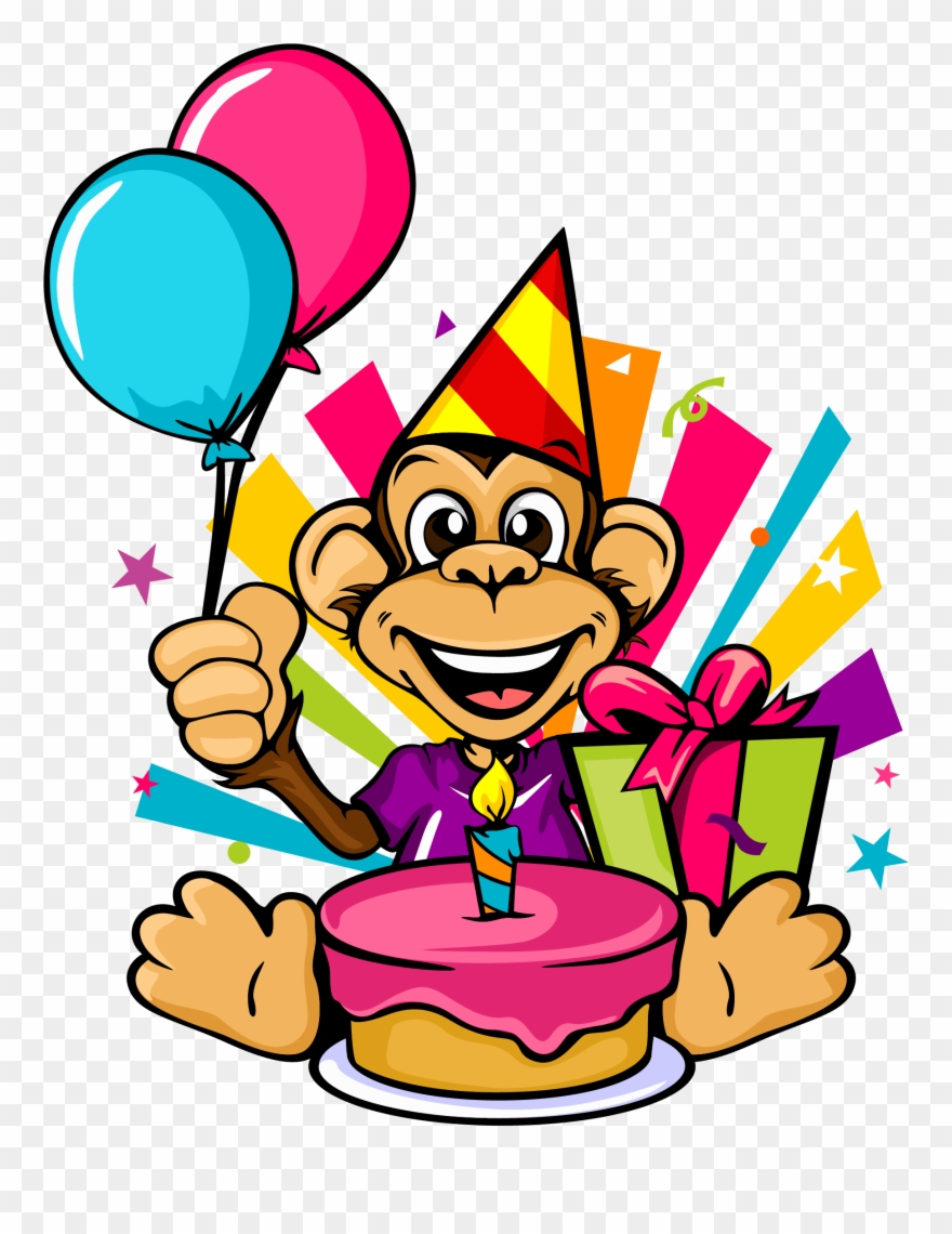 Gaming Birthday Parties Clipart (#1868664).