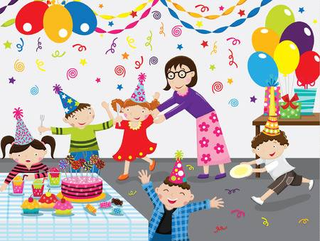 409,467 Birthday Party Cliparts, Stock Vector And Royalty Free.