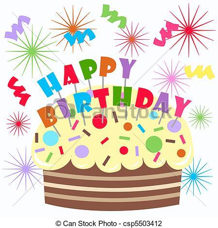 Birthday illustrations and clip art birthday royalty free image #183.