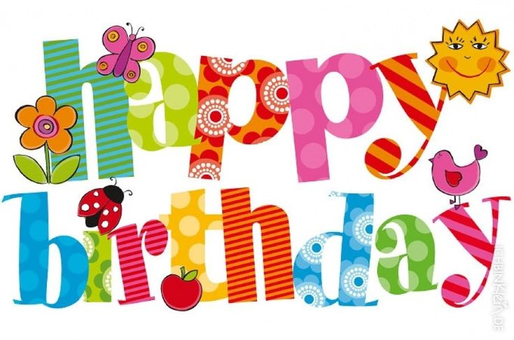Happy Birthday Friend Clipart.