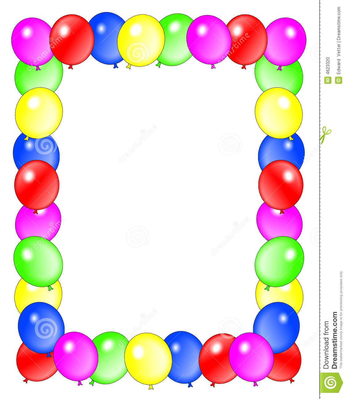 happy birthday frame clipart - Clipground