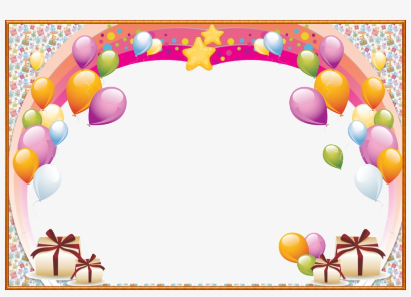 Birthday Png Frame Clipart Birthday Picture Frames.