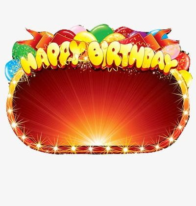 Happy Birthday Stage Effects PNG, Clipart, Birthday Clipart.