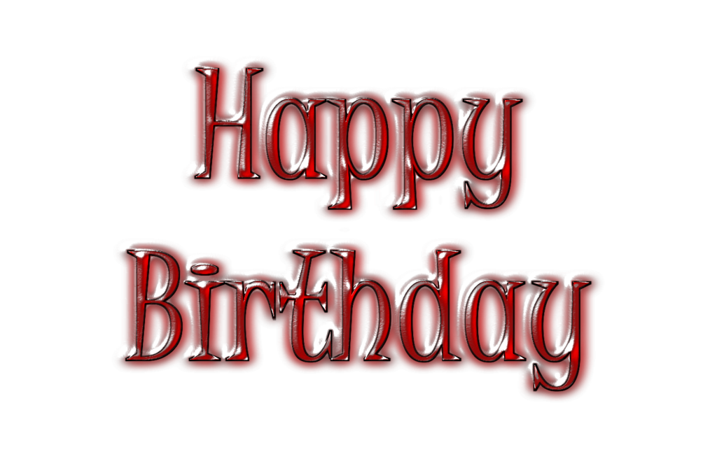 Happy Birthday Free PNG file by JVartndesign on Clipart.
