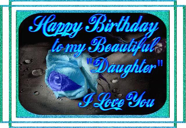 Happy Birthday Daughter GIFs.