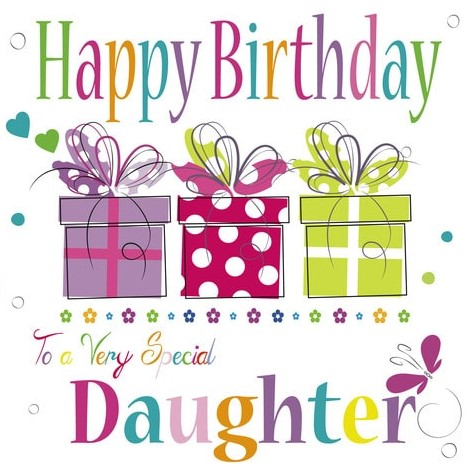 Happy birthday daughter clipart 6 » Clipart Station.