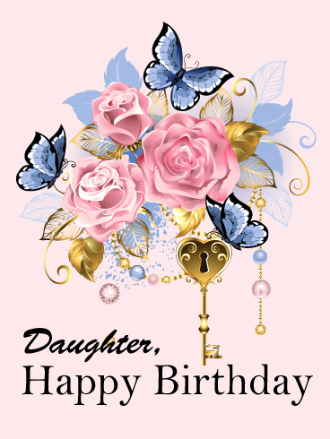 Birthday Cards for Daughter.