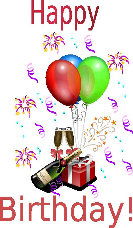 Free Birthday Clipart, Animations & Vectors.