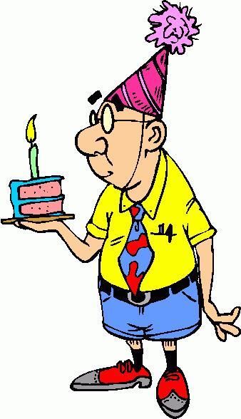 Person clipart happy birthday.