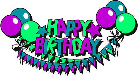 Happy birthday free birthday clipart animations 2.