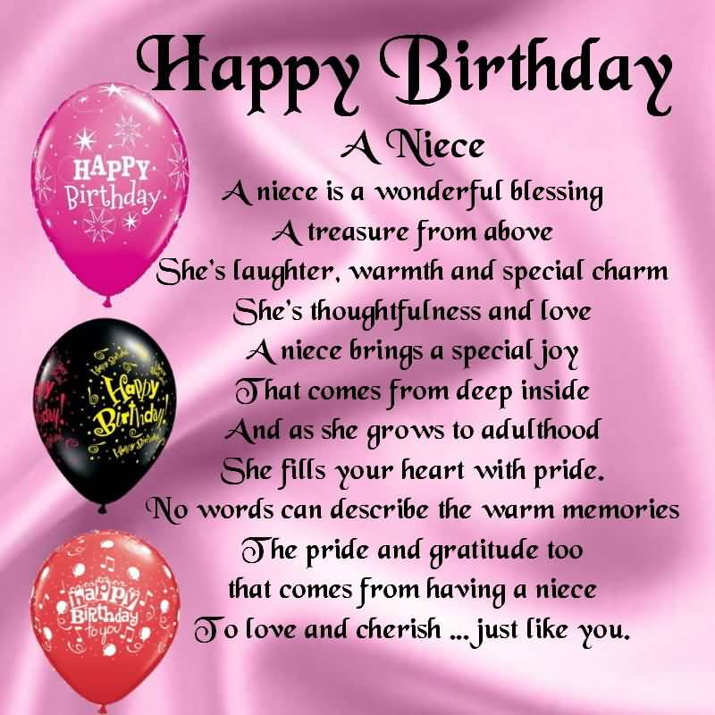 Birthday wishes for niece 3.