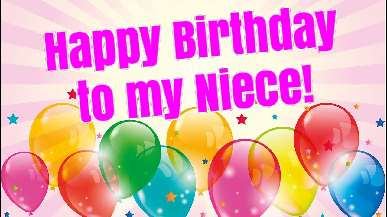 Happy Birthday Wishes for Niece.