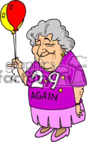 New Old Lady Birthday Memes.