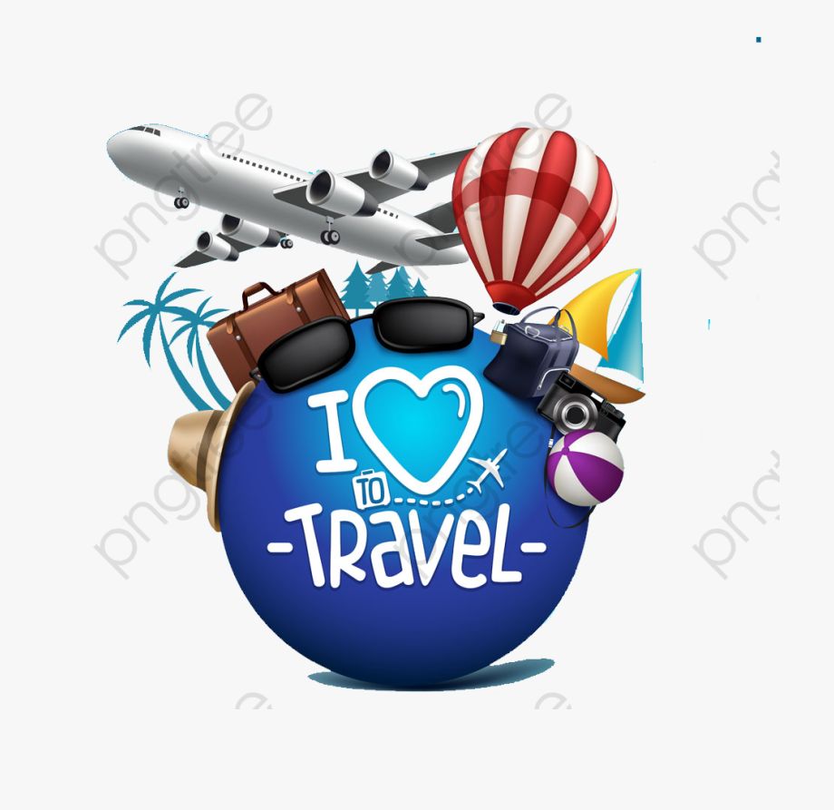 Travel Clipart Airplane.