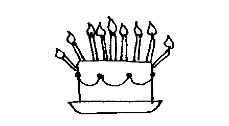 Birthday Party Clip Art Black And White.