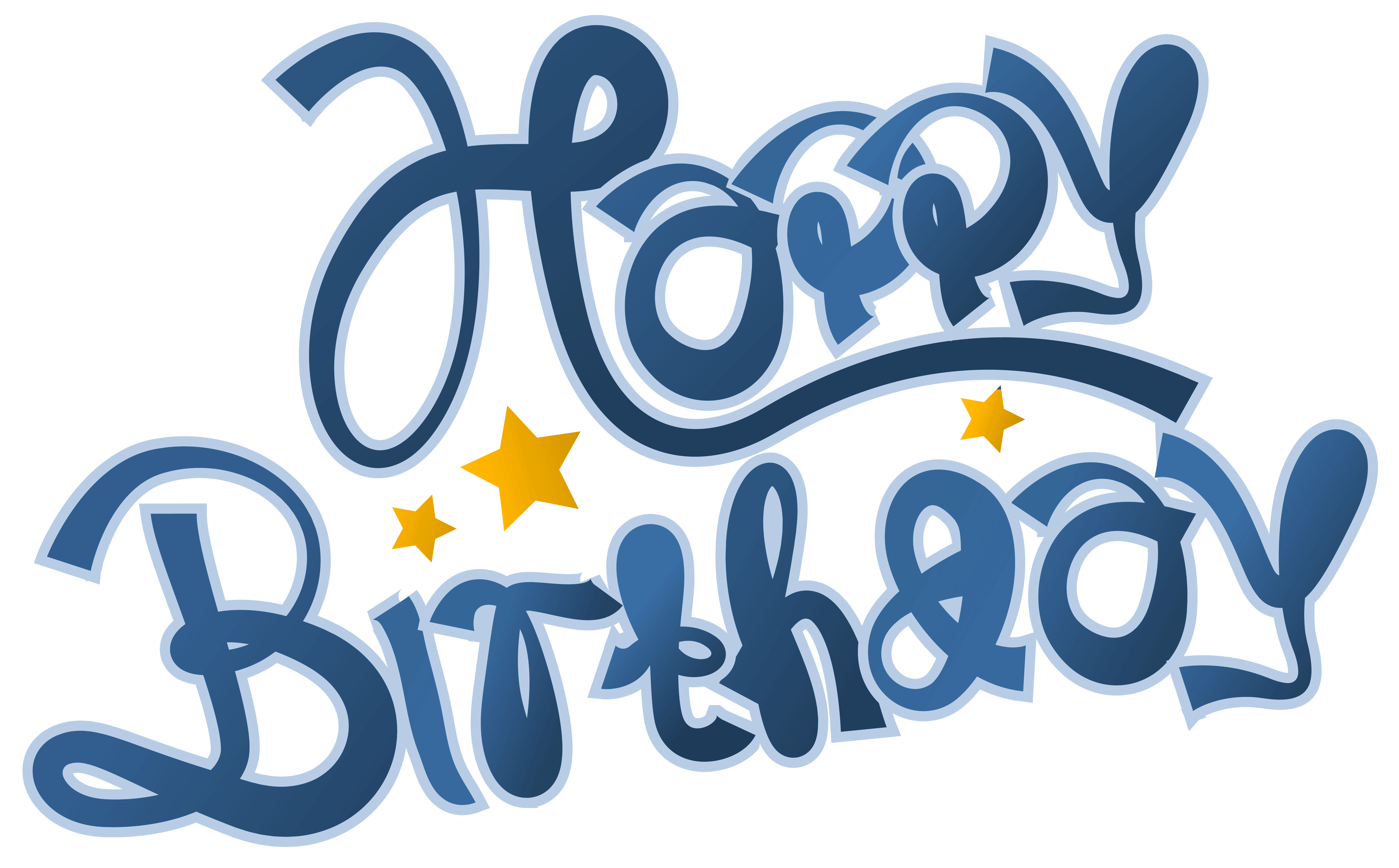 Birthday Clipart Free Blue.