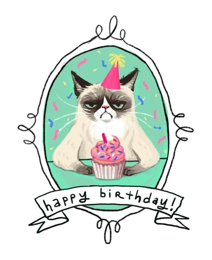 Funny Happy Birthday Clipart.