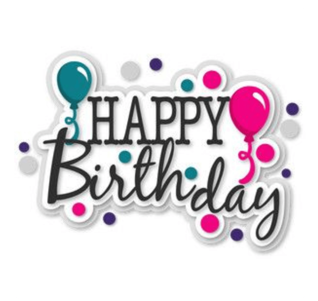 Happy Birthday Wishes With Cake Clipart.
