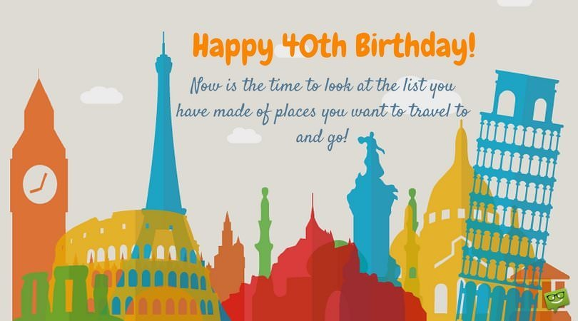 Happy 40th Birthday Wishes!.