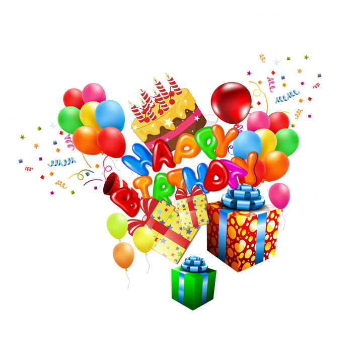 Happy Birthday Clipart PNG Images Free Download searchpng.com.