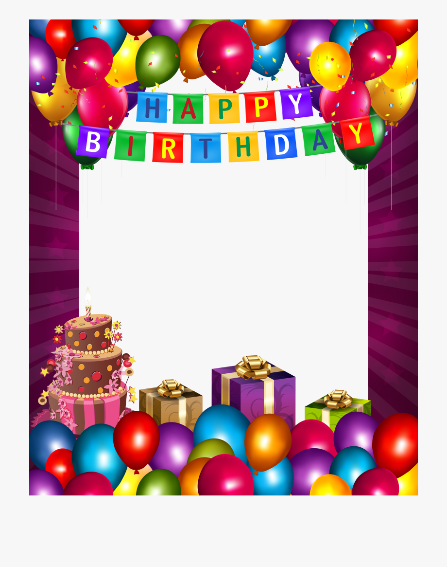 Clip Art Free Download Happy With Balloons Transparent.