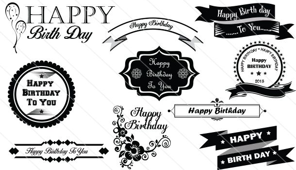 Happy Birthday Designs.